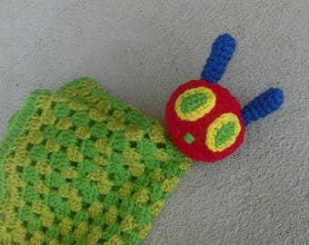 The Very Hungry Caterpillar Inspired Lovey| Ready to ship