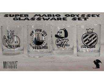 Super Mario Odyssey - Glassware Set
