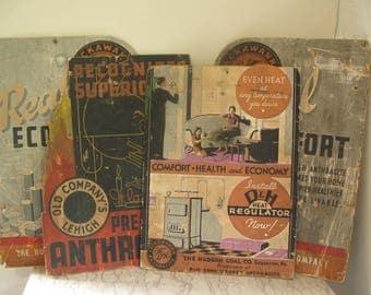 4 vintage fuel advertising