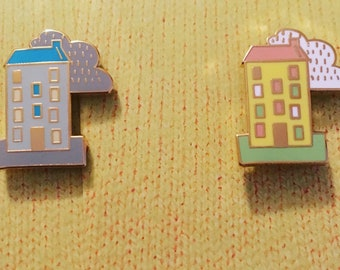 Winter and Spring tenement pins