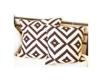 Pillow cover 40x40 cm, cotton canvas/Ökotex