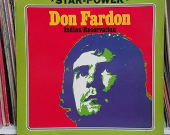 Don Fardon Indian Reservation Intercord Records 125405 German Press Rock LP