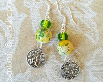 "Earring ""Tree of life"""