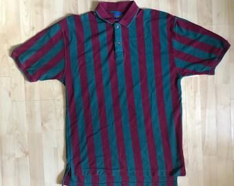 Vintage 90s Pendleton Striped Polo Large