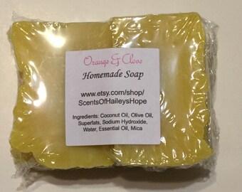 Orange & Clove Homemade Soap
