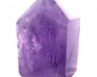Points of amethyst 3 inches height