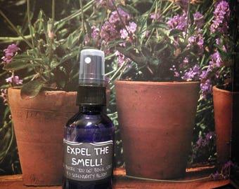 EXPEL THE SMELL - toilet bowl spritz - Lavender/Lemon