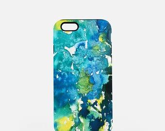Teal We Meet Again, Tough iPhone or Samsung Galaxy Case, Tough Phone Case, Blue and Green Phone Case, iPhone Case, Samsung Case, Pixel Case