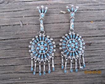 Zuni Earrings-LONG!