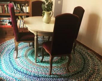 Großer runder teppich  Große runde teppich | Etsy
