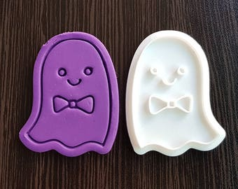 Cute Ghost Boy  Cookie Cutter and Stamp