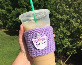 Coffee accessories - Drink accessories - Summer accessories - Coffee cosy - Coffee cozy - Drink covers - Drink cozy - Crochet cozy