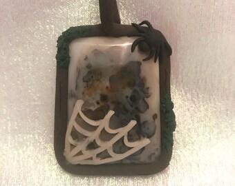 Spider fairy pendant