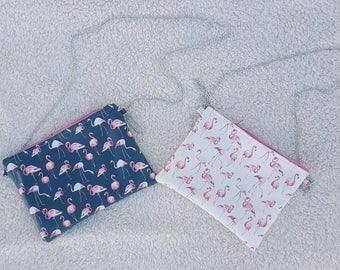 Flamingo/Boresetta Laminate cotton handbag/waterproof handbag