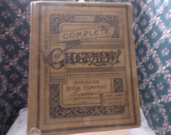 1898 Barnes's Complete Geography