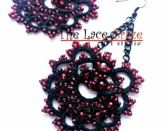 Chandelier handmade earrings