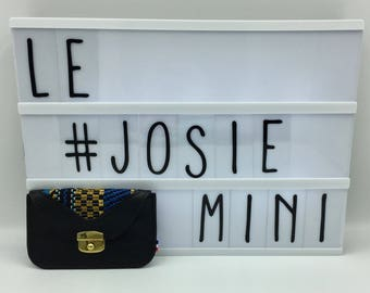 Josie dark blue leather