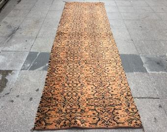 vintage rug rugorange rugcarpet rug runner