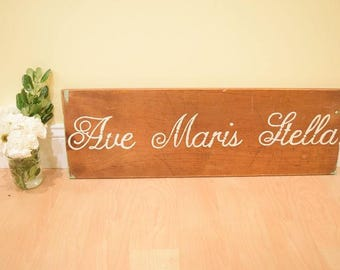 Stella Custom Wooden Sign