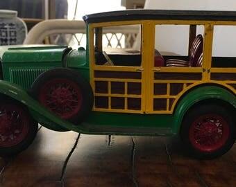 Vintage Hubley Model A Ford Station Wagon