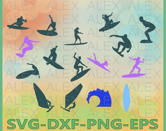 70% OFF, Surfing Svg, Surfing png, eps, svg, dxf, Surfing Clipart, Surfing Svg Silhouettes, Silhouette Files, Cut Png File