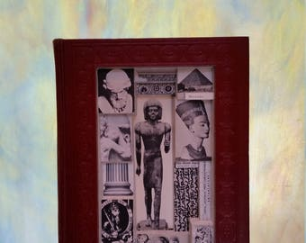 Book Sculpture - Book Carving - Altered Book - Book Art