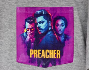 Preacher - Pocket T-Shirt