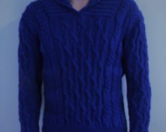 Handmade Cable Sweater