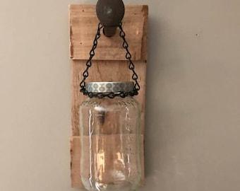Repurposed Wood Hanger