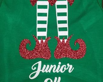 Christmas onesie/Elf onesie/baby /Christmas outfit