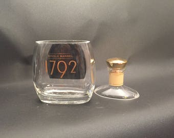 1792 Single Barrel Bourbon Whiskey BOTTLE Soy Candle.  Made to Order !!!!!