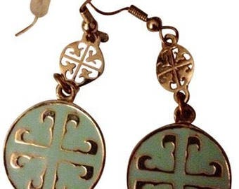 Tory Burch inspired earrings