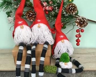 christmas decorations, Christmas Gnomes, Nordic Gnome,  Christmas Gift, Scandinavian Gnome, Nordic Christmas Decor, Santa Gnome, Tomte