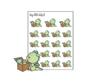 Planner Stickers Dragon Pick Up Toys