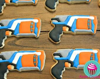Nerf Gun Cookies