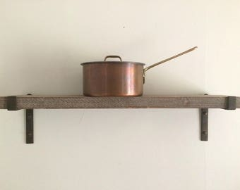 Vintage Copper and Brass Sauce Pan