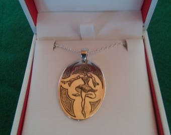 Irish Dancer Pendant