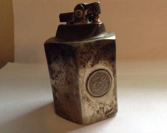 Vintage Penguin table gas lighter