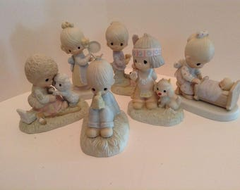 Precious moments figurines lot of 6