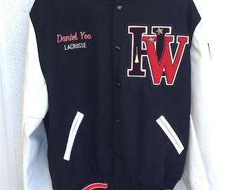 Vintage High School Lettermen's Jacket from Harvard Westlake Private School