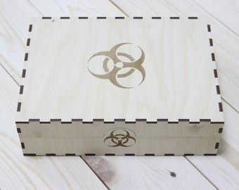 Pandemic board game crate, box, storage solution