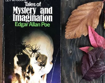 Vintage book Poe Edgar Allan Tales of Mystery and Imagination paperback