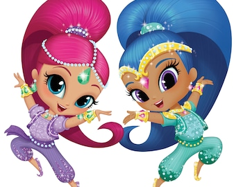 Shimmer and Shine Instant Download