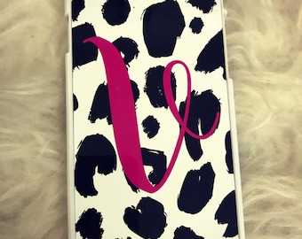 Leopard Print Alphabet  Phone Case