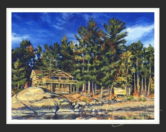 Grandfather's Cottage - Print