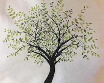 Green Tree Tote