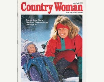 Summer Sale Country Woman Magazine Jan/Feb 1994
