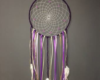 Purple and gold Dream catcher