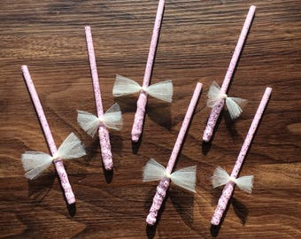 6 fairy/ princess wands/ favors/ party