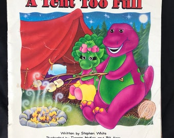 1993 A Tent Too Full featuring Barney u0026 Baby Bop. Childrens book  sc 1 st  Etsy & Baby bop book | Etsy